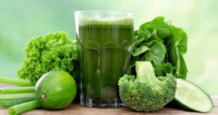 zumo batido de brocoli