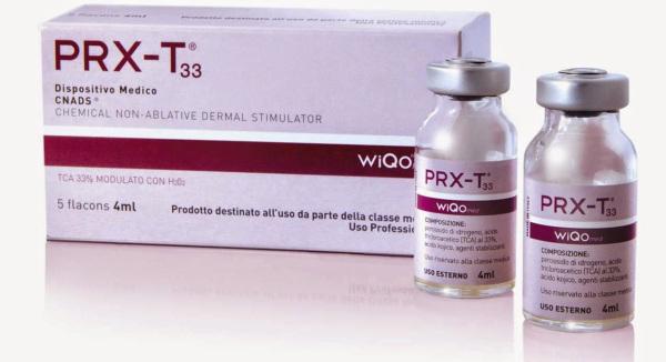 Envase del tratamiento prx t33