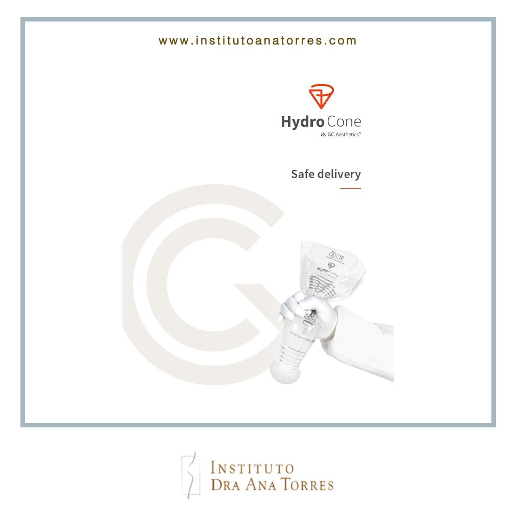 Sistema Hydrocone cirugía mamaria Barcelona